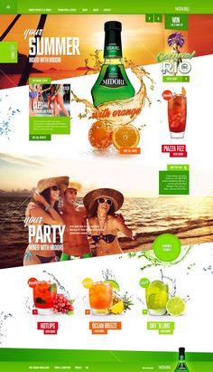 Webdesign Schweiz | Jetzt kostenlose Offerte anfordern http://www.swisswebwork.ch Midori - Website redesign by Garth Sykes, via Behance