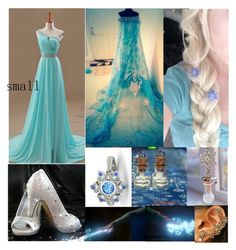 """""""Elsa"""" by storypainter ❤ liked on Polyvore featuring Disney, Gemvara, women's clothing, women, female, woman, misses and juniors"""