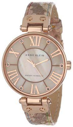 Anne Klein Women's AK/1334RGLP  Rose Gold-Tone and Snakeskin Print Leather Strap Watch Anne Klein,http://www.amazon.com/dp/B00AJUM8YW/ref=cm_sw_r_pi_dp_v02wsb1T72ACQE2T