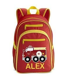 Personal Creations #Gifts  #Personalizedgifts Personalized Fire Engine Large Backpack - Red Personal Creations. $29.99 - Great Personalized Gifts via- http://www.AmericasMall.com/personalcreations-gifts