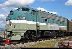 RailPictures.Net Photo: NP 6703A Northern Pacific Railway EMD F9(A) at Spokane, Washington by Kevin Andrusia