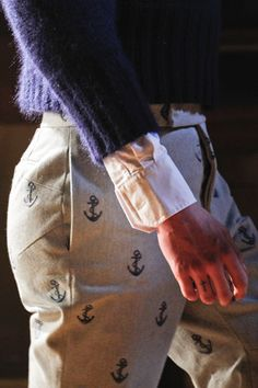 87a03719397 Thom Browne Fall 2012 collection Preppy Mens Fashion