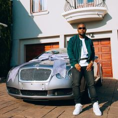 Cassper Nyovest buys a Bentley adds it to car collection though he already owns a Lamborghini