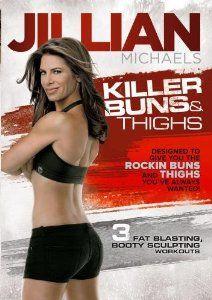 $8.96 + free shipping Amazon.com: Jillian Michaels Killer Buns & Thighs: Jillian Michaels, Andrea Ambandos: Movies & TV