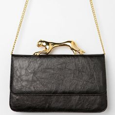 Fancy - Jaguar-Grip Crossbody Bag by Deena & Ozzy