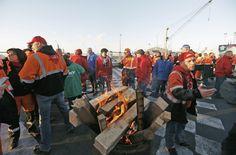Bélgica, afectada por huelga general en cuatro provincias