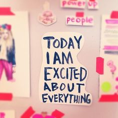 I am a very charismatic individual. I get excited if the sky is blue. I also get excited if it's gray. I try to be a pretty posi. Positive Affirmations, Positive Quotes, Motivational Quotes, Inspirational Quotes, Girl Empowerment, Spice Girls, Good Thoughts, Encouragement Quotes, Happy Quotes