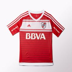 New jersey River / Photo: Courtesy Adidas New Jersey, Grande, Tops, Hs Sports, World, Soccer Jerseys, Champs, Shirts, Argentina