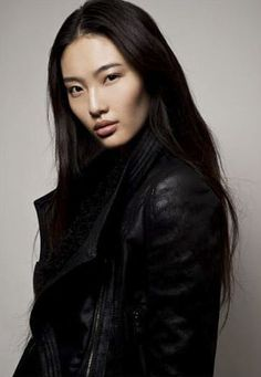 Newcomer and Chinese model Bonnie Chen, known for being a finalist in the Elite Model Look competition and her cheekbones