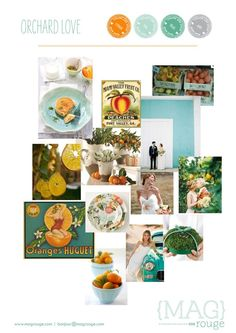 MAGrouge Wedding Inspiration Board