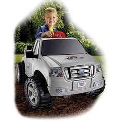 Power Wheels Ford F150 Ride-On