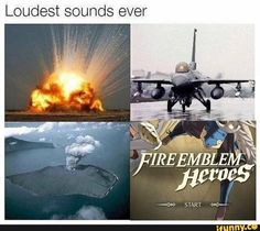 This is SO TRUE!!! When I use my headphones it's just like FIRE EMBLEM. ...HEROES!!!!
