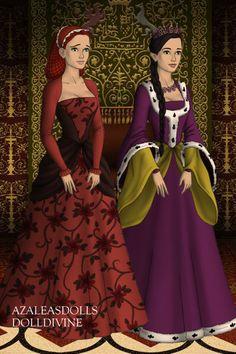 Ella and Reyna  made by Morgan D Jackson