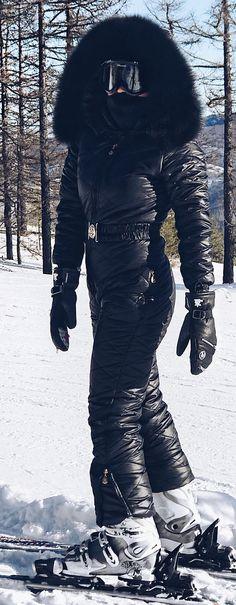 black | skisuit guy | Flickr