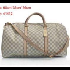 Travel duffle bag White travel duffle bag no tags no locks Not rated  Bags Travel Bags