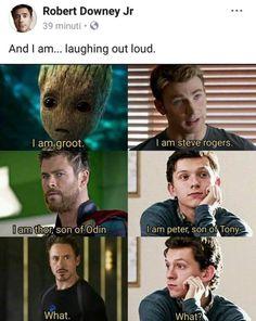 marvel avengers Source by genevieve_tkd Marvel Jokes, Funny Marvel Memes, Dc Memes, Marvel Films, Avengers Memes, Marvel Cinematic, Funny Disney Jokes, Disney Memes, Hilarious