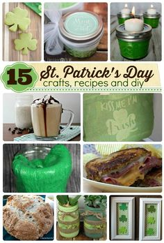 St. Patrick's Day Round up of crafts, recipes and DIY