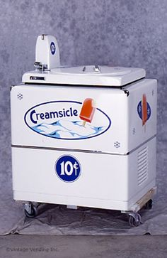 Vendo Dairy-Vend Ice Cream Machine...although i don't ever remember them being ten cents...
