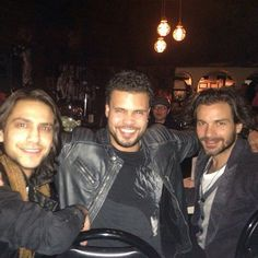 Okay H'wood cast them in everything. Now. Go...(the missing Tom Burke as well please and thank you)Luke Pasquelino, Howard Charles & Santiago Cabrera