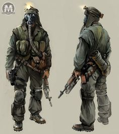 metro last light concept art - Google Search