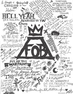 Fall Out Boy Lyric Art by AstridSOS.deviantart.com on @deviantART