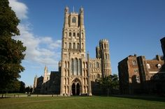 Ely Cathedral, Ely, England. One of my favorites!  LOVE not only the cathedral but whole town as well.