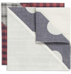 ChiefTwo-Pack Patterned Pocket Squares