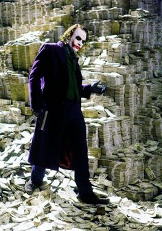 """ericscissorhands: """"It's not about the money. It's about sending a message. Everything burns."""""""