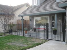 This amazing project was successfully finished and highlights our beautiful fence