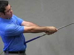 The Belly Up Drill: Fix the Chicken Wing in your Golf Swing - YouTube