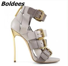 Groovy Stiletto Sandals