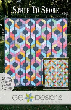 Strip to Shore Quilt pattern