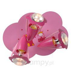 3-punktowa lampa sufitowa Pinky 6054797