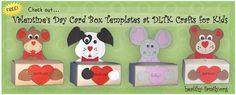 box valentin, craft, kid