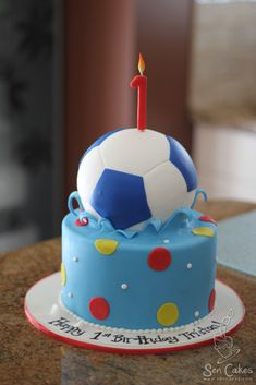 9. First Birthday Cake