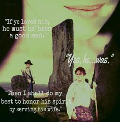 """Jamie and Claire"" quote. Outlander FA by Liz"