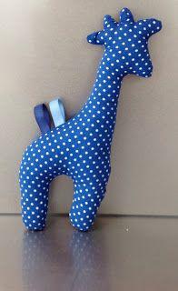 Giraf, ideaal om rond te leren stikken