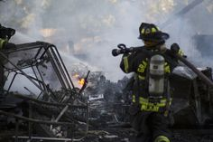 GRAND BLANC TOWNSHIP, Mich. — A Michigan man who tried to use fireworks to remove a bees' nest from his garage ended up burning the building down instead.MLive reports (http://bit.ly/2tHlHLT ) crews responding to the home in Grand Blanc Township on Monday saw fireworks shooting into the sky from the burning garage. No one was injured.Grand Blanc Fire Chief Bob Burdette says the homeowner was trying to use a smoke bomb to get a bees' nest out of the garage.Homeowner Mike...