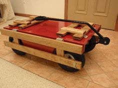 great use of the Millside Wagon Kit! Example of a custom built wagon from Northern Tools Millside Wagon Kit.