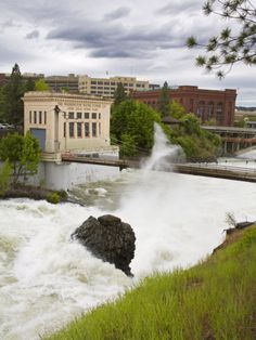 Spokane River, Riverfront Park, Spokane Washington