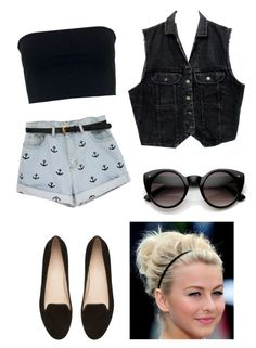 """""""#25 Anchor"""" by rosaisela-98 on Polyvore featuring moda, Motel, Witchery y INDIE HAIR"""