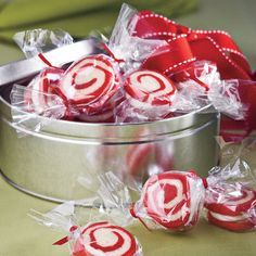 Food Gifts for Christmas: Peppermint Pinwheel Cookies