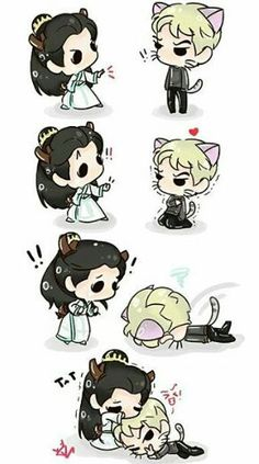 Hunhan/ hahahahahaha what to say about it? Exo Ot12, Chanbaek, Sehun And Luhan, Exo Fan Art, Otp, Yoonmin, My Sunshine, Hello Kitty, Anime