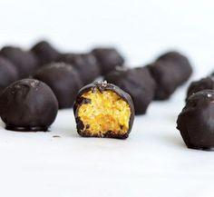 Трюфели из кокоса и кураги - волшебные домашние конфеты