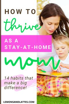How to thrive as a stay-at-home mom: 14 habits of happy and organized stay-at-home moms. Stay Happy, Happy Mom, Are You Happy, Mom Schedule, Stay At Home Mom, Mom Advice, Mom Hacks, First Time Moms, Working Moms