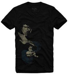 Camiseta Bruce Lee wwww.laditta.com.br #tshirt #brucelee #laditta