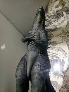 Godzilla 2014: Godzilla 2014 Encounter Design Sculpture