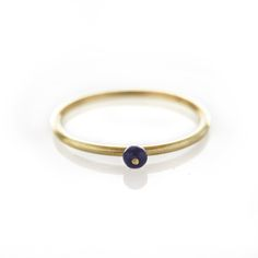 A brass ring with centered Lapis lazulite stone. Please check our info page for more details on ring sizes. Cute Jewelry, Jewlery, I Am Awesome, Fashion Jewelry, Bangles, Wedding Rings, Brass, Fancy, Stone