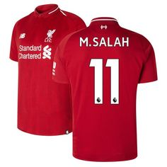 8fb6dfabf29 Mohamed Salah  11 Liverpool 2018 2019 Home SOCCER Jersey -Red