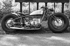 Bobber BMW R60/2 by Micho's Garage Motorcycles. I like to call it the gentleman's bobber !